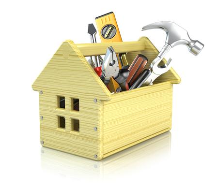 tackle box: House toolbox