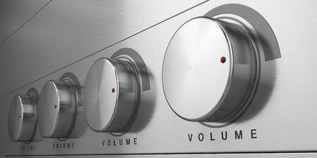 tumbler: Volume control Stock Photo