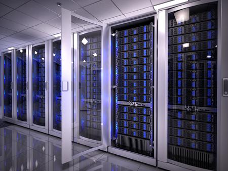 renderfarm: Servers in data center