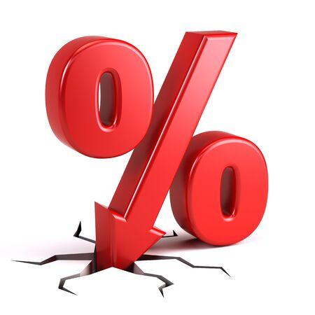 percentage: Discount percentage