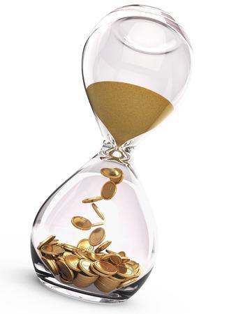 Time is money concept Foto de archivo