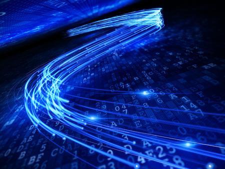 optical fiber Banco de Imagens - 58604174