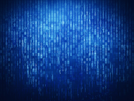 binary matrix: Binary code background