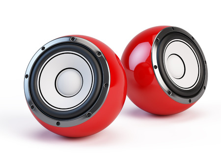 acoustic systems: Sphere speakers