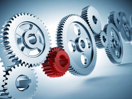 steel: Steel gear wheels