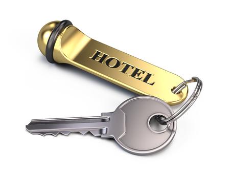cardkey: Hotel key Isolated On White Stock Photo