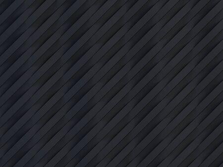 Fond de rayures 3D vague noire - rendu 3d Banque d'images - 94840125
