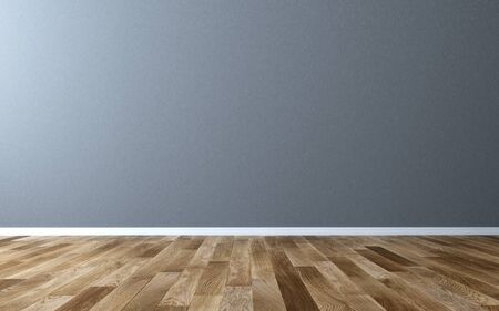 Mur vide dans le salon - rendu 3d Banque d'images - 94816428