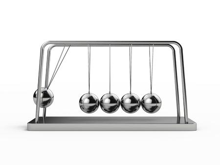 Balle d'équilibre Le berceau de Newton Banque d'images - 94928209