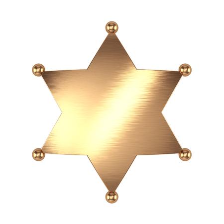 Badge de Sheriff Banque d'images - 94856050