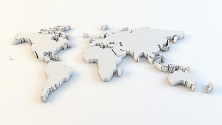 Carte du monde des affaires Banque d'images - 94838918