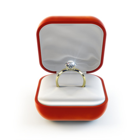 Diamond Ring Banque d'images - 95976912