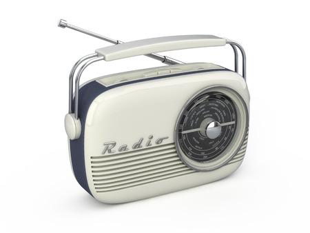 Retro radio Banque d'images - 95968635