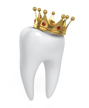 Dent et couronne Banque d'images - 97485973