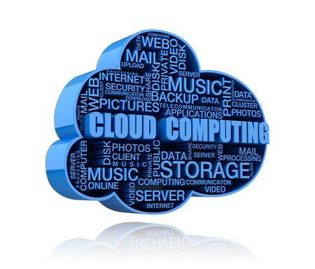 Cloud computing Banque d'images - 98146747