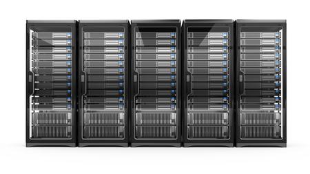 Serveurs informatiques Banque d'images - 98146751