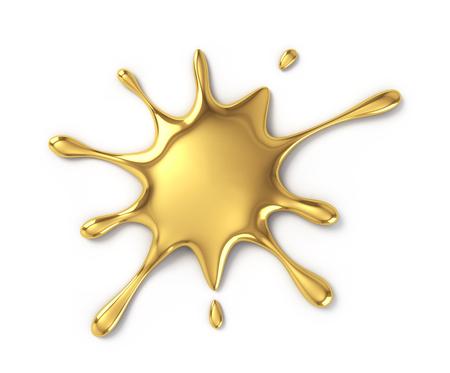 Gold blot