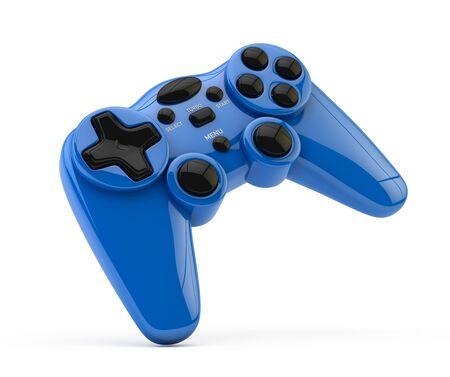 Gamepad joystick isolé sur blanc Banque d'images - 98146789