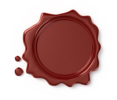 wax seal Banco de Imagens
