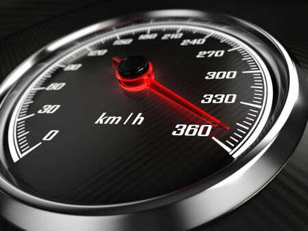 Speedometer Archivio Fotografico