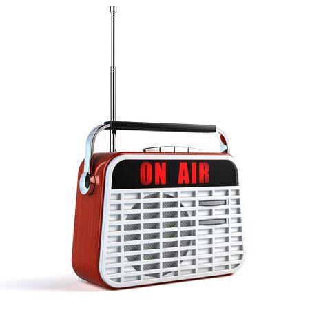 Retro Radio 写真素材