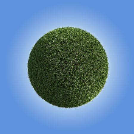 Green Grass Planet