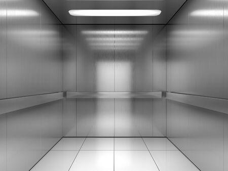 Inside of elevator 版權商用圖片