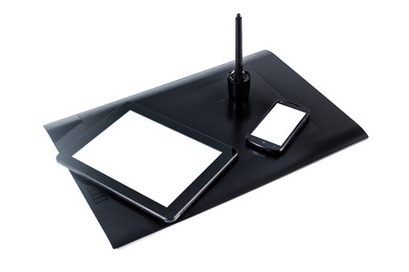 digitized: Digital graphic tablet