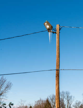 solid line: Electric power line  always look solid.