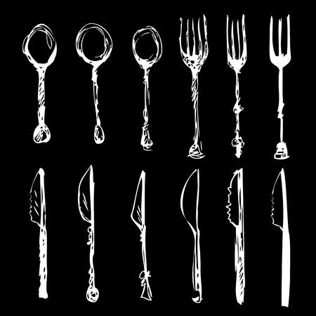 cutlery set .