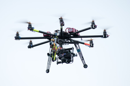 remote controls: UAV or drone with a digital camera mounted on it