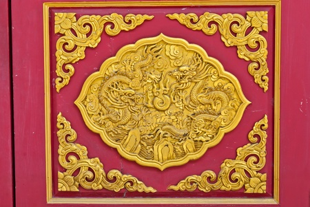 Chinese golden dragon background, can be use for related dragon concept design and background photo