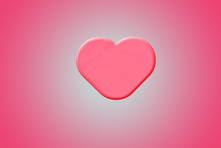 out of use: Sweet looking pink heart with line background, can be use for various love related concepts, design and print out.
