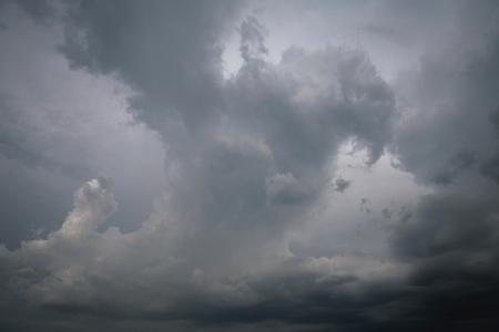 Grey clouds and stromy day. Reklamní fotografie