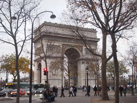 arc: The Arc de Triomphe
