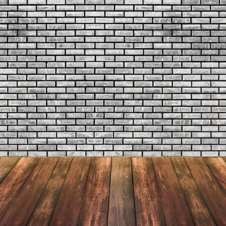 backdrop design: Brick and wood texture background