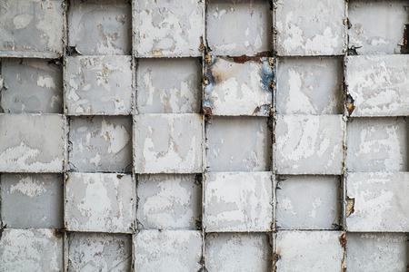 steel texture: Old steel cube pattern texture