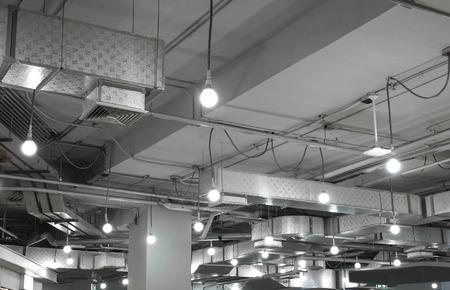 Sistema di ventilazione in un moderno edificio Archivio Fotografico - 43172074