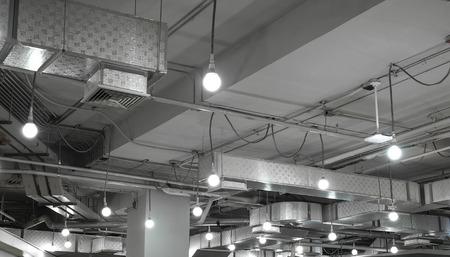 ventilation system in modern building