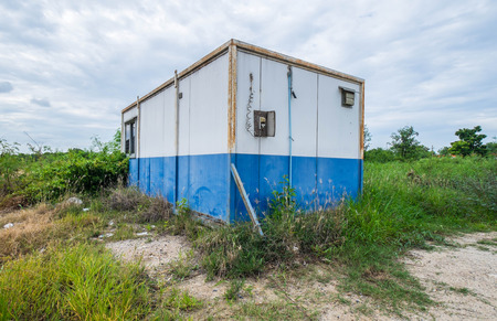 cargo container: Vintage container cabin home