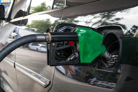 refuel: car refuel eco-friendly fuel in gas station