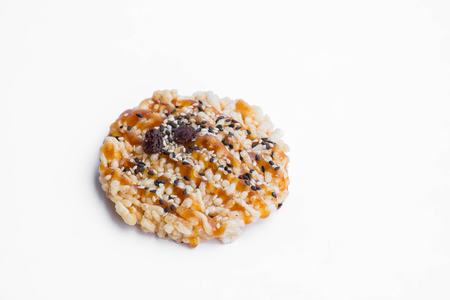 bene: Classic Thai healthy snack, Khon Tan on white background