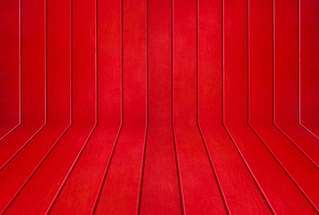Colorful red wood texture background Standard-Bild