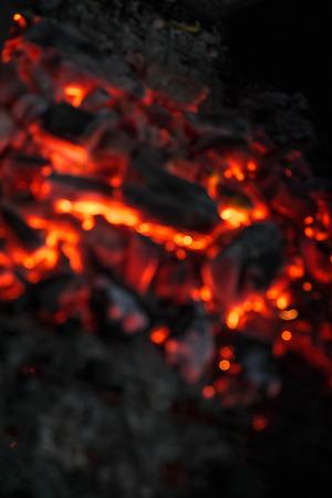 quemadura: Borrosa queman carb�n