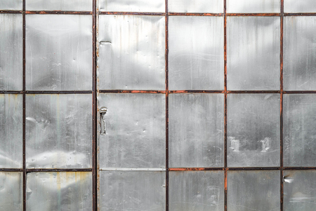 Old metal sheet wall texture