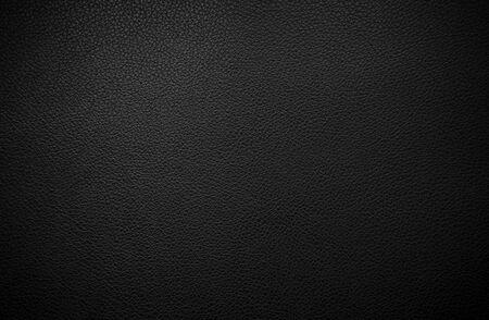 Texture de cuir noir Banque d'images