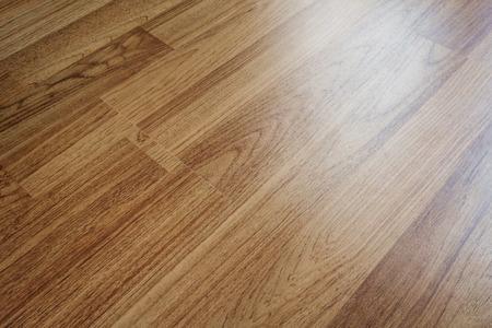 shiny floor: Wood laminated floor texture with reflection light