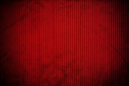 ridged: Red corrugated metal texture, with vignette border