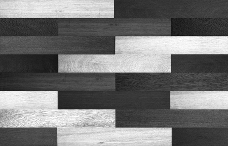 parquet floor layer: Seamless wood texture, black and white wood texture background