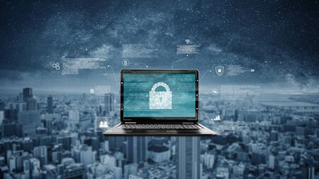 Internet network and cyber data security system technology